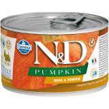 Farmina N&D Dog PUMPKIN корм для взрослых собак мелких пород, Тыква и перепела, 140 гр