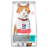 Hill's Science Plan для стерилизованных кошек в возрасте 6 месяцев - 6 лет, с тунцом 10 кг