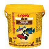Sera (Сера) Vipan (Випан) корм для рыб крупные хлопья основной рацион 10л (2кг)