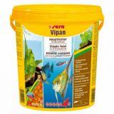 Sera (Сера) Vipan (Випан) корм для рыб крупные хлопья основной рацион 20 л (4кг)