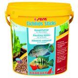 Sera (Сера) Cichlids Sticks корм для цихлид в палочках 10 л. 2 кг. (ведро)