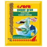 Sera (Сера) Guppy Gran (Гуппи Гран) корм для рыб 10г (пакетик)