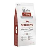 Brit Care Корм для собак с чувствительным пищеварением Оленина картофель 12 кг
