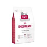 Brit Care Корм для активных собак Утка Рис 3 кг