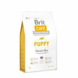 Brit Care Корм для щенков Ягненок Рис 3 кг