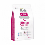 Brit Care Корм для щенков крупных пород Ягненок Рис 3 кг