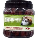 Green Qzin Лакомство Пикник 2 колбаса из кролика для собак 750 гр