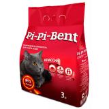 """Pi-Pi-Bent Комкующийся наполнитель """"Классик"""", пакет 3 кг"""