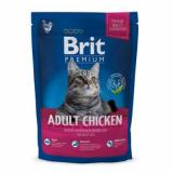 Brit Premium Корм для кошек Курица Печень 300 гр