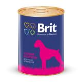 Brit Premium Консервы для собак Сердце Печень 850 гр