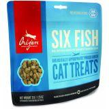 Orijen FD Cat six fish (Ориджен фд кэт 6 видов рыб) сублимированное лакомство для кошек 35 г