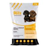 Blitz puppy small and medium breed корм для щенков мелких и средних пород 3 кг