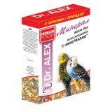 Доктор Алекс для волнистых попугаев, Минералы, 500 гр