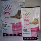 Blitz Ault Cats Lamb корм для взросл кошек, с ягненком 400 г