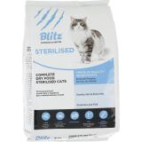 Blitz Sterilised Cats корм для стерелизованых кошек 10 кг