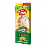 Happy Jungle Палочки для мелких грызунов Медовый микс 3 шт