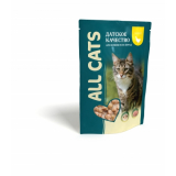 All Cats Пауч корм для кошек Курица в соусе 85 гр