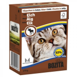 Bozita Tetra Pac Feline Корм для кошек кусочки в желе Мясо Лося 370 гр