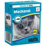 Bozita Tetra Pac Feline Корм для кошек кусочки в желе Скумбрия 370 гр