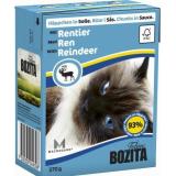 Bozita Tetra Pac Feline Корм для кошек кусочки в соусе Олень 370 гр