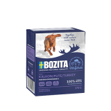 Bozita Tetra Pac Naturals Корм для собак кусочки в желе Индейка 370 гр