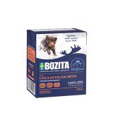 Bozita Tetra Pac Naturals Корм для собак кусочки в желе Лосось 370 гр