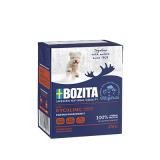 Bozita Tetra Pac Naturals Корм для щенков кусочки в желе Курица 370 гр