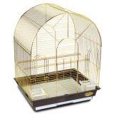 Клетка для птиц (Китай) №200 ЗОЛОТО (30*23*40)