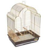 Клетка для птиц (Китай) №202 ЗОЛОТО (30*23*40)
