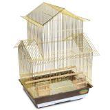Клетка для птиц (Китай) №300 Золото (34*28*42)