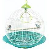 Клетка для птиц РТД №А328 Круглая 33*52