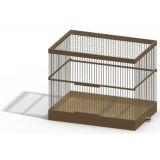 Клетка для птиц РТД №А408 34*28*47