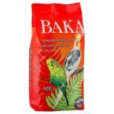 Вака корм для мелких и средних попугаев, пакет, 500 гр