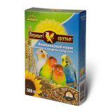 Верные Друзья, корм для мелких и средних попугаев, 500 гр