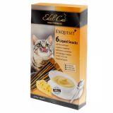 Edel Cat Крем-суп лакомство для кошек Сыр 6 шт