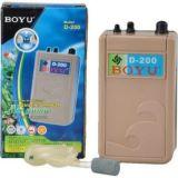 Компрессор Boyu D200 на батарейках (Ч)