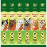 Allegro Cat Лакомство Колбаски Ягненок Индейка для кошек 6 шт