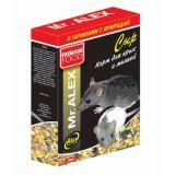 Mr. Alex корм для крыс и мышей Сыр 500 гр