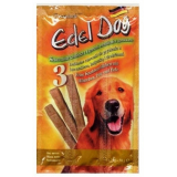 Edel Dog Колбаски лакомство для собак Курица Индейка Дрожжи 3 шт