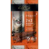 Edel Cat Мини колбаски лакомство для кошек Телятина Ливерная колбаса 4 шт