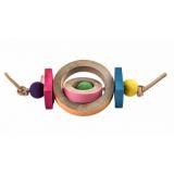 Briko игрушка для птиц Браслет-Вертушка для лап 20 см